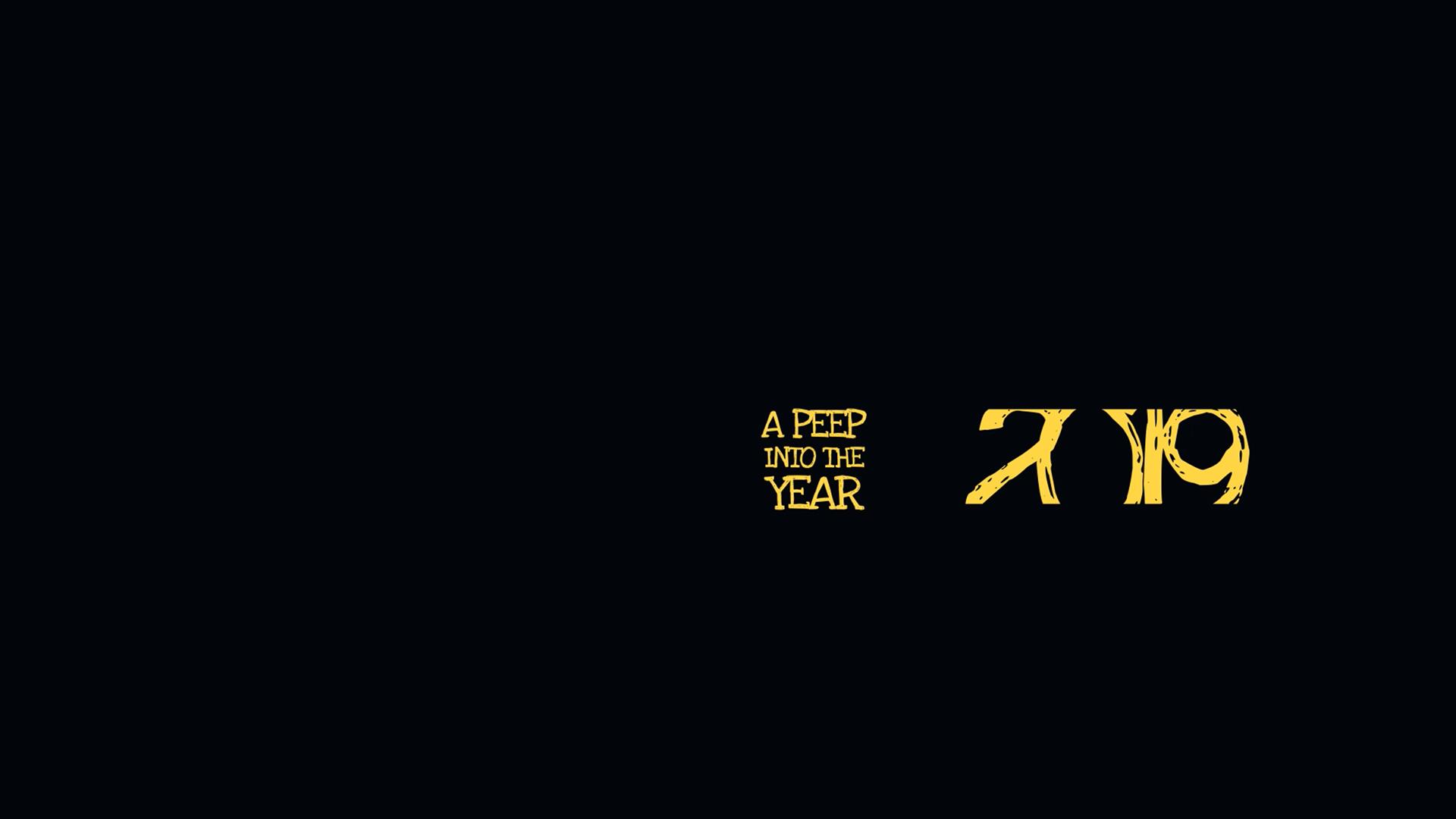 A peep into 2019