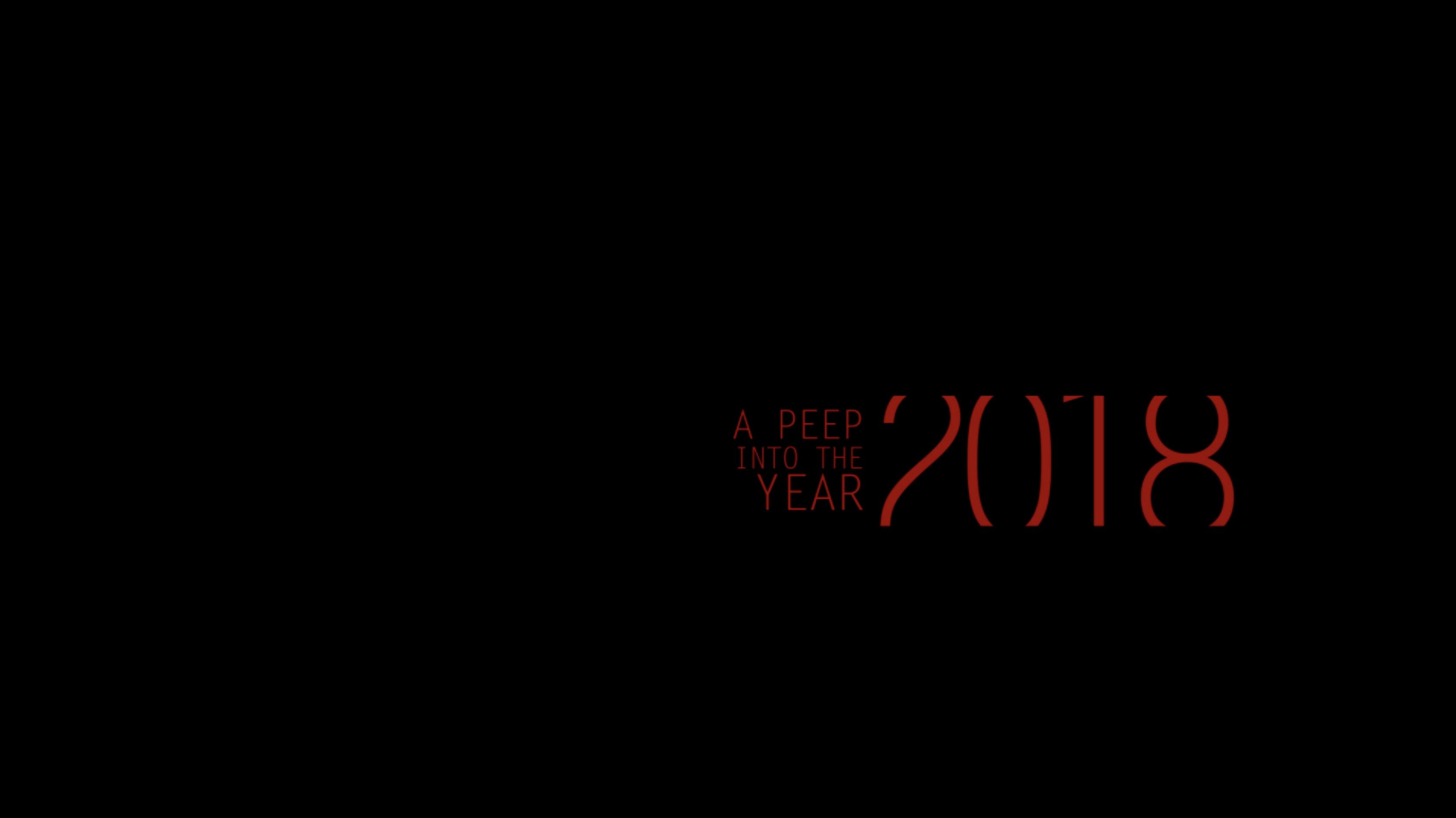 A peep into 2018
